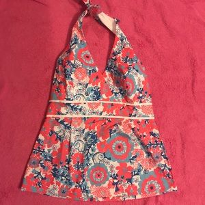 Lilly Pulitzer 4th of July halter